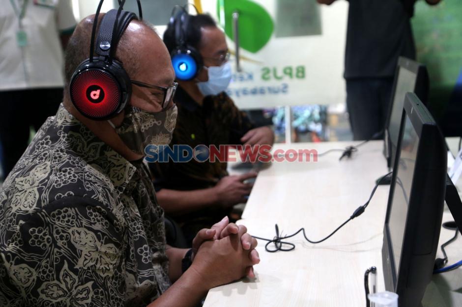 Dirut BPJamsostek Tinjau Layanan New Normal di Surabaya-2