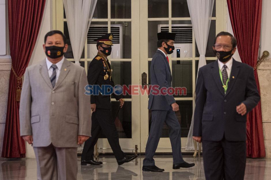 Presiden Jokowi Pimpin Upacara Virtual Peringatan Hari Bhayangkara ke-74-6