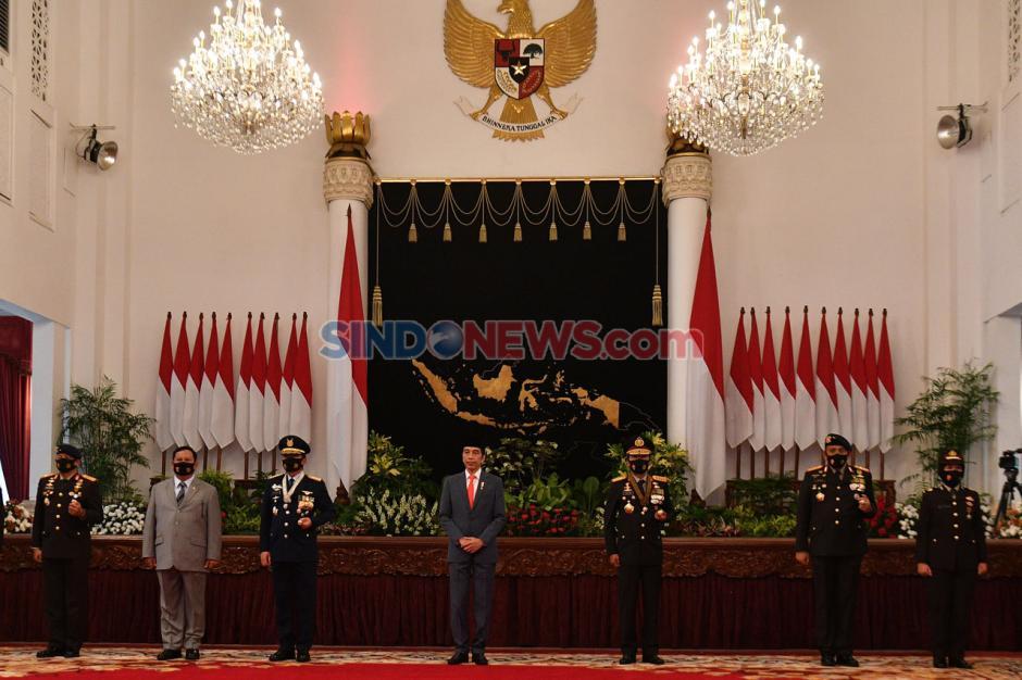 Presiden Jokowi Pimpin Upacara Virtual Peringatan Hari Bhayangkara ke-74-5