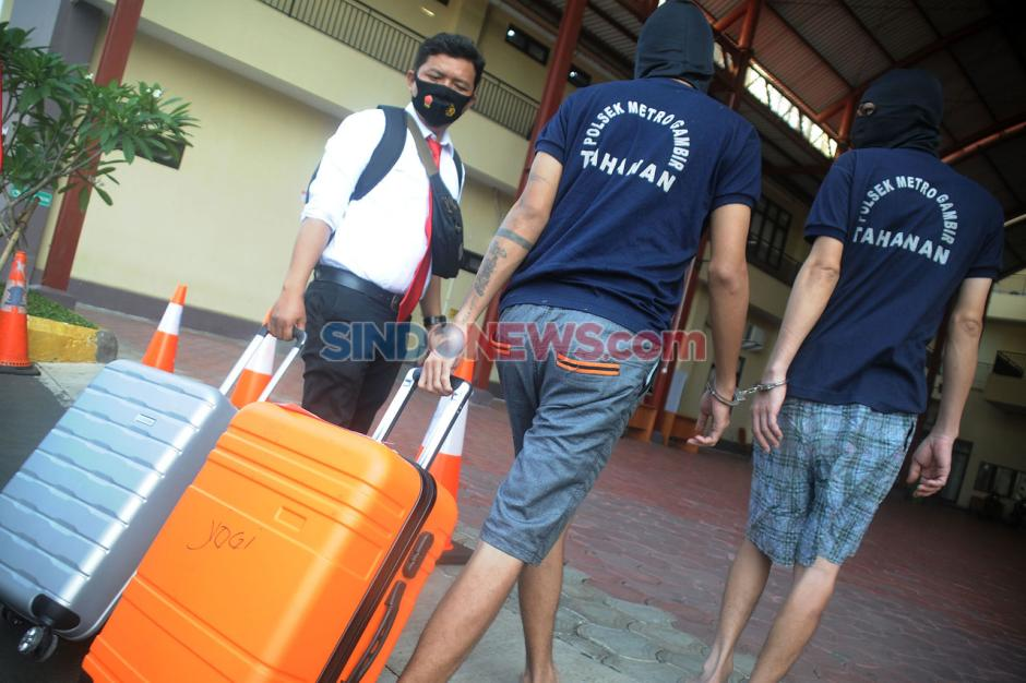 Polrestro Jakarta Pusat Musnahkan Barang Bukti Narkoba-2