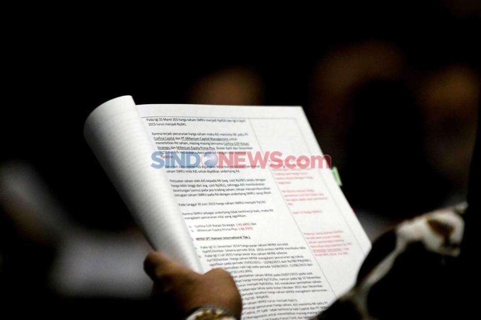 Hexana Tri Sasongko Jadi Saksi Sidang Kasus Korupsi Jiwasraya-6