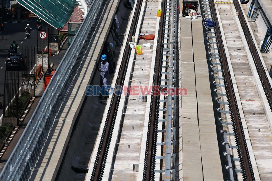 Proyek LRT Jabodebek Ditargetkan Selesai 2021-2