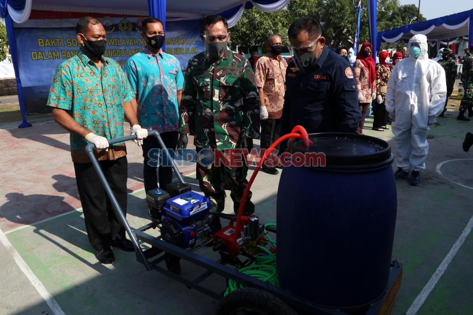 Koarmada II Gelar Baksos di RSS Wonosari Surabaya-0