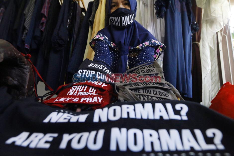 Masuki New Normal dengan Masker Kain Trendi Khas Baduy-4