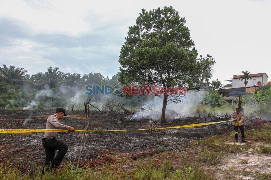 Kebakaran Lahan di Pekanbaru Berhasil Dipadamkan-1