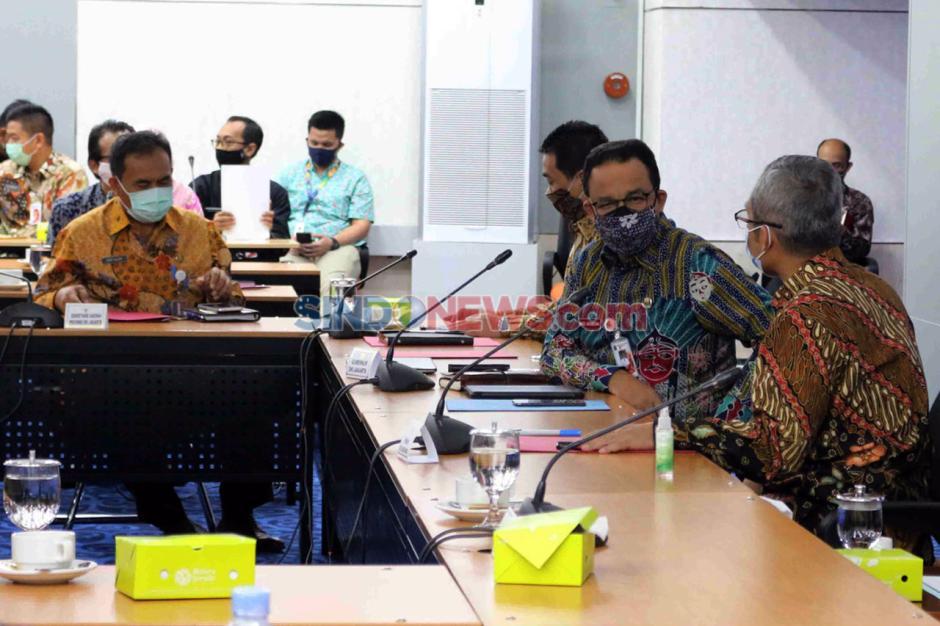 KPK dan Pemprov DKI Bahas Penyaluran Bansos Warga Terdampak Covid-19-1