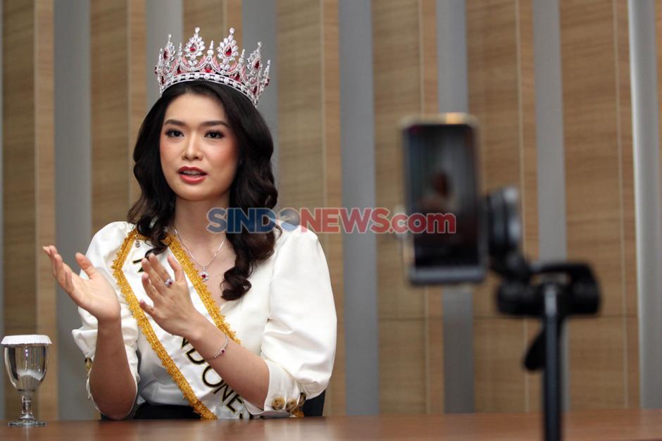 Miss Indonesia Carla Yules Berbagi Cerita Selama Pandemi Covid-19-1