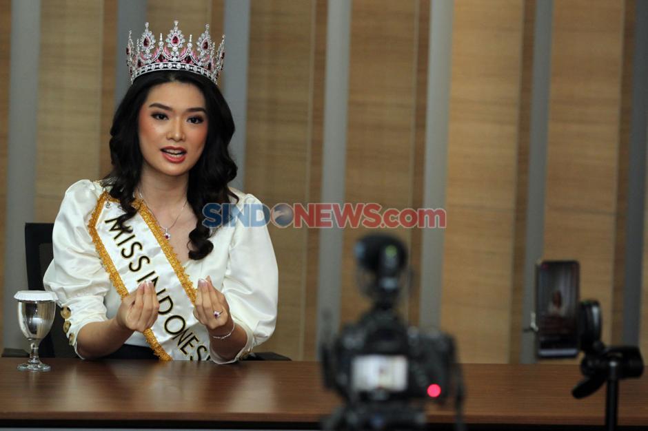 Miss Indonesia Carla Yules Berbagi Cerita Selama Pandemi Covid-19-3