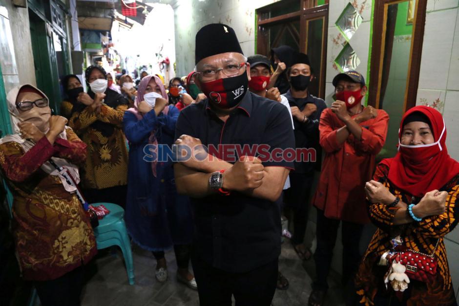 Wawali Surabaya Whisnu Sakti Sambangi Kampung Tangguh-4