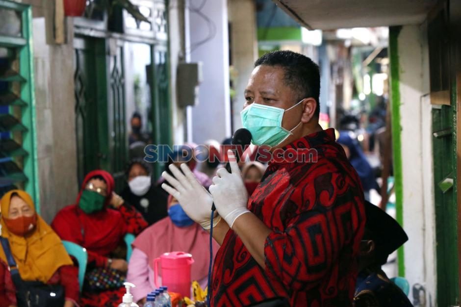 Wawali Surabaya Whisnu Sakti Sambangi Kampung Tangguh-2