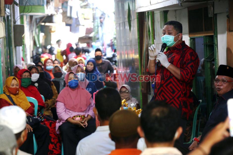 Wawali Surabaya Whisnu Sakti Sambangi Kampung Tangguh-3