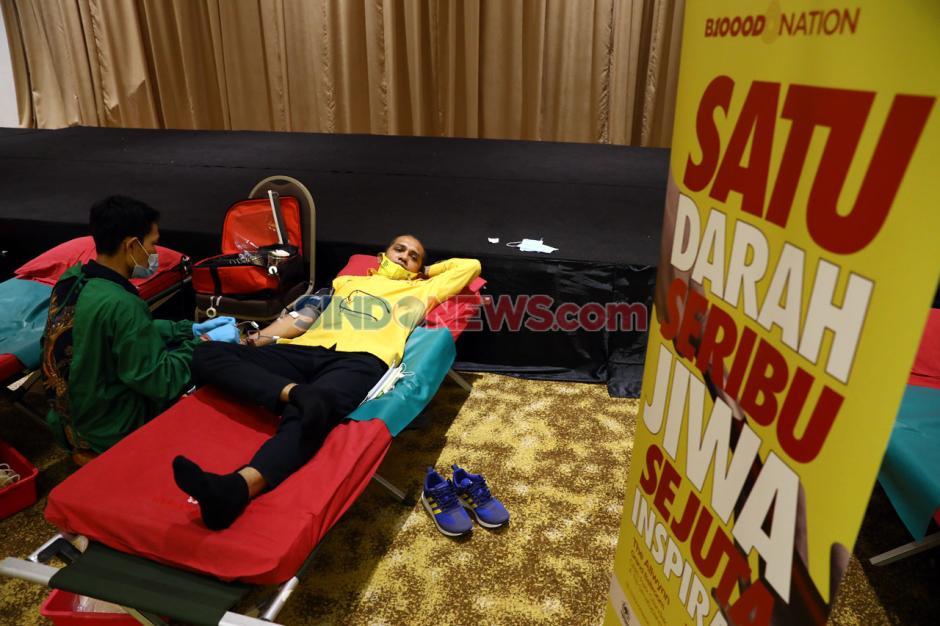 Bantu PMI Penuhi Stok, PP Angkatan Muda Partai Golkar Gelar Donoh Darah-6