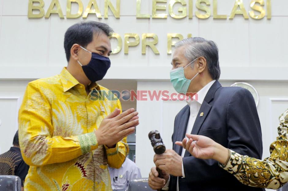 Wakil Ketua Baleg DPR M Nurdin Resmi Dilantik-1
