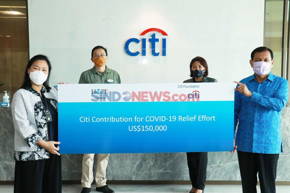 Bantuan Rp2 Miliar Disalurkan Citi Indonesia dan HOPE Worldwide Indonesia untuk Penanganan Covid-19-2
