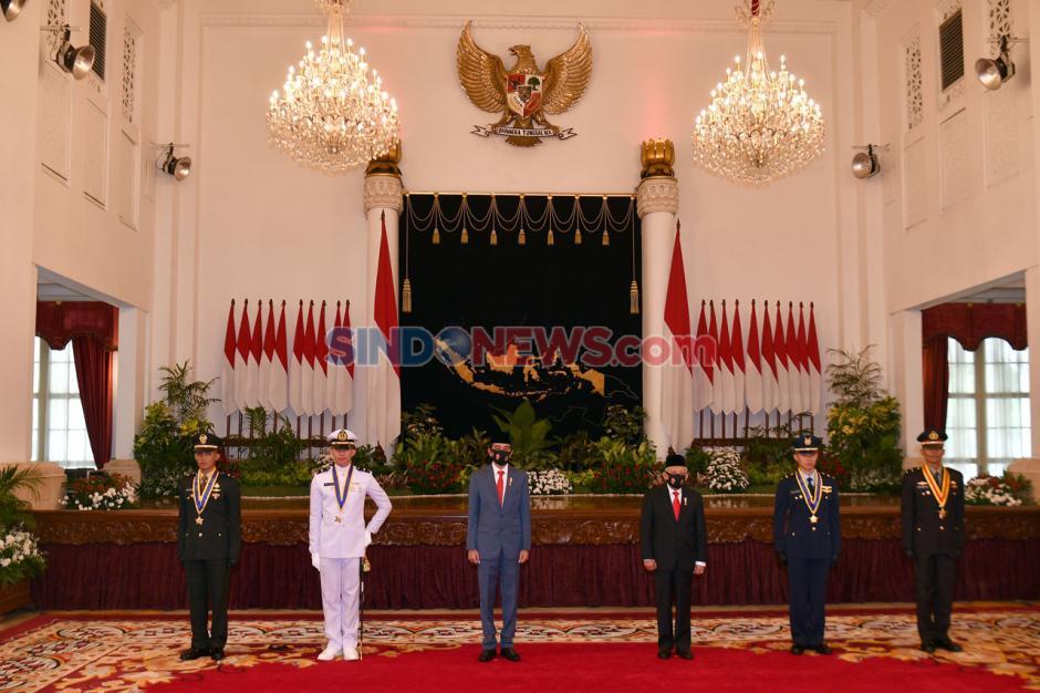 Presiden Jokowi Lantik Perwira Remaja Peraih Adhi Makayasa-2