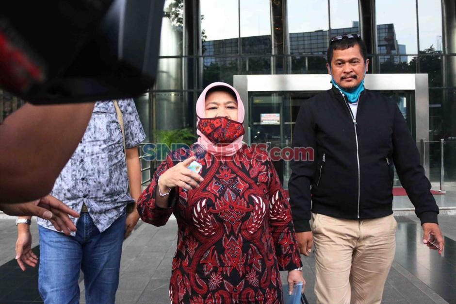 Mantan Bupati Bogor Nurhayanti Jalani Pemeriksaan di KPK-3