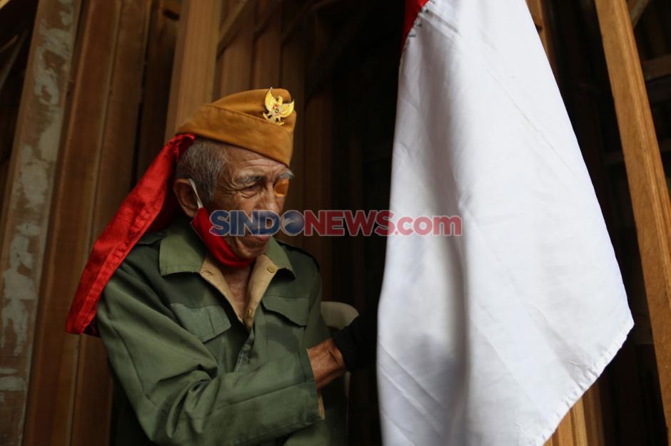 Hormati Perjuangan Pahlawan, Veteran Susuri Jalanan Kota Surabaya-0