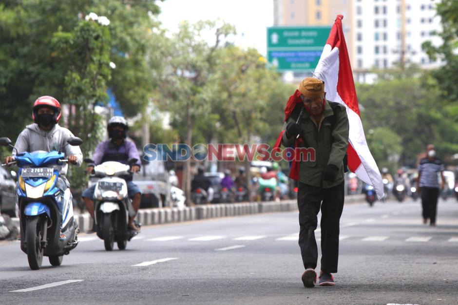Hormati Perjuangan Pahlawan, Veteran Susuri Jalanan Kota Surabaya-3
