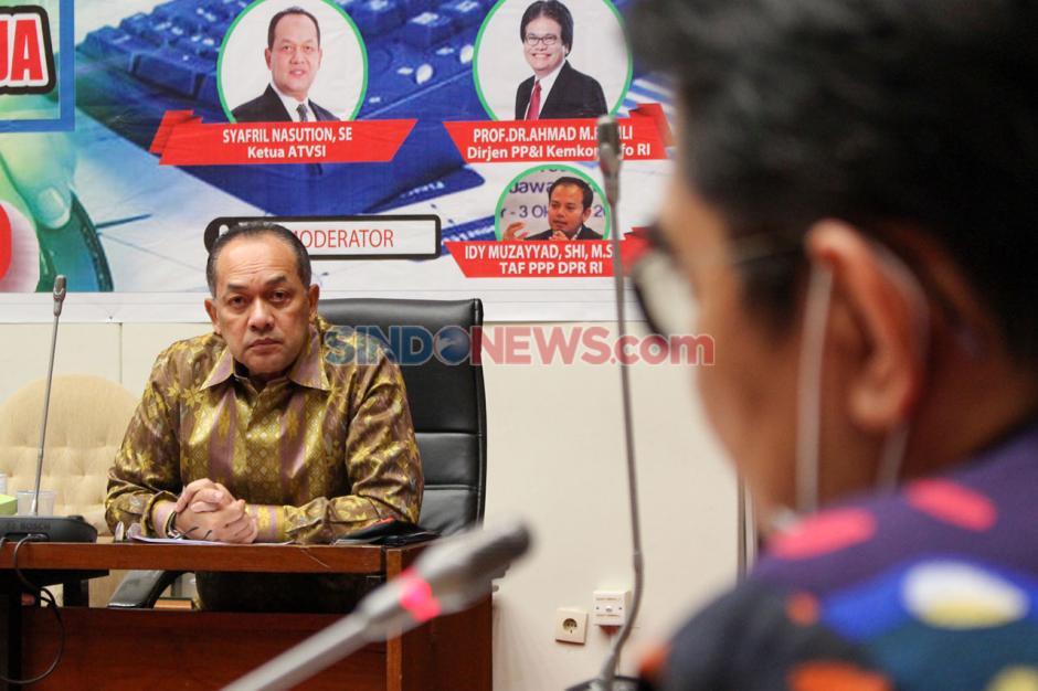 Seminar Fraksi PPP: Regulasi dan Digitalisasi Penyiaran dalam Omnibus Law RUU Cipta Kerja-4