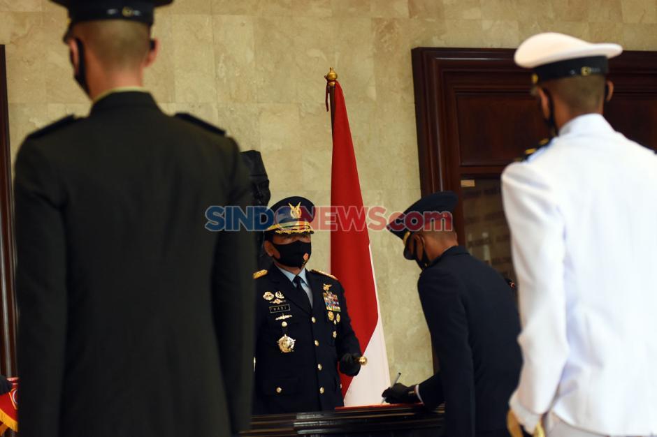 Panglima TNI Hadiri Pelantikan Perwira Prajurit Karier TNI-0