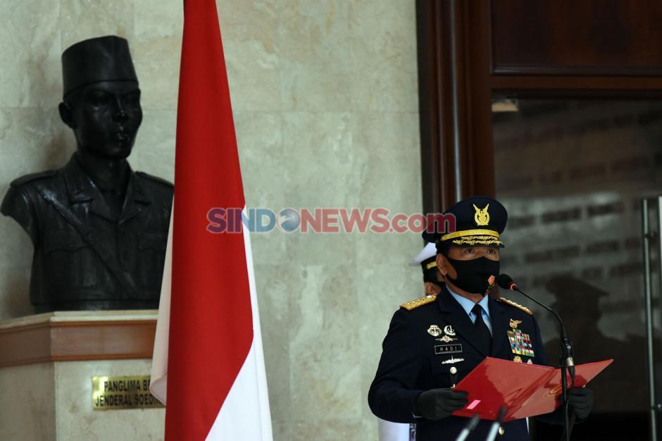 Panglima TNI Hadiri Pelantikan Perwira Prajurit Karier TNI-1