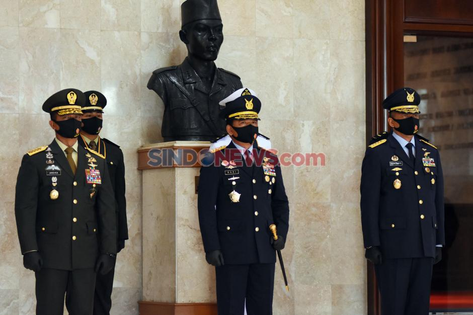 Panglima TNI Hadiri Pelantikan Perwira Prajurit Karier TNI-2