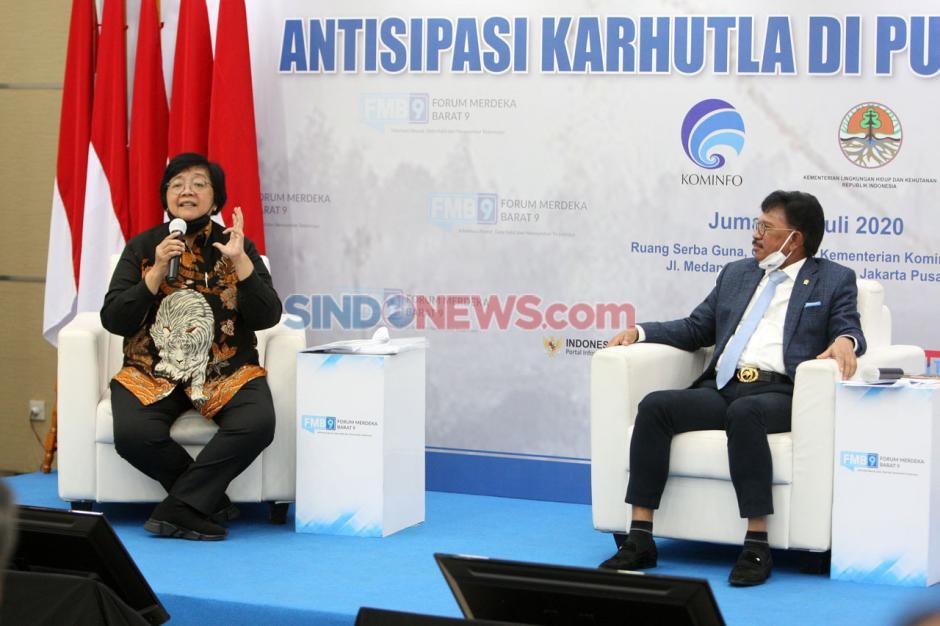 Forum Merdeka Barat 9: Antisipasi Karhutla di Pusaran Pandemik-2