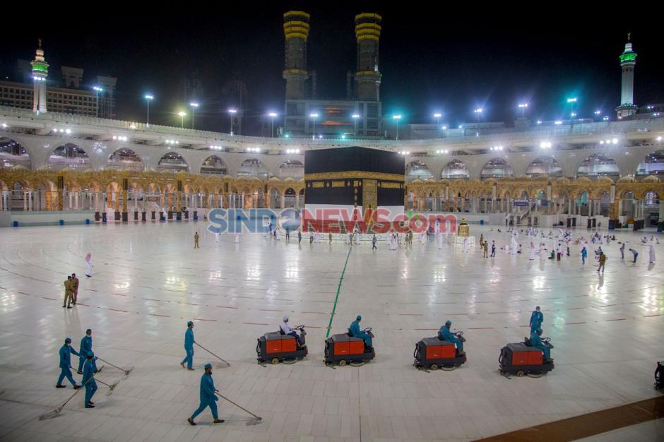 Masjidil Haram Bersiap Sambut Jamaah Haji di Saat Pandemi-3