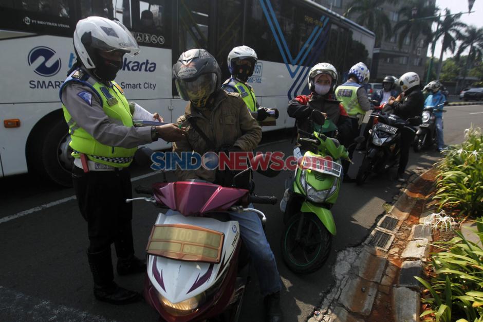 Hari Keenam Operasi Patuh Jaya 2020, 4.240 Surat Tilang Telah Dikeluarkan-0