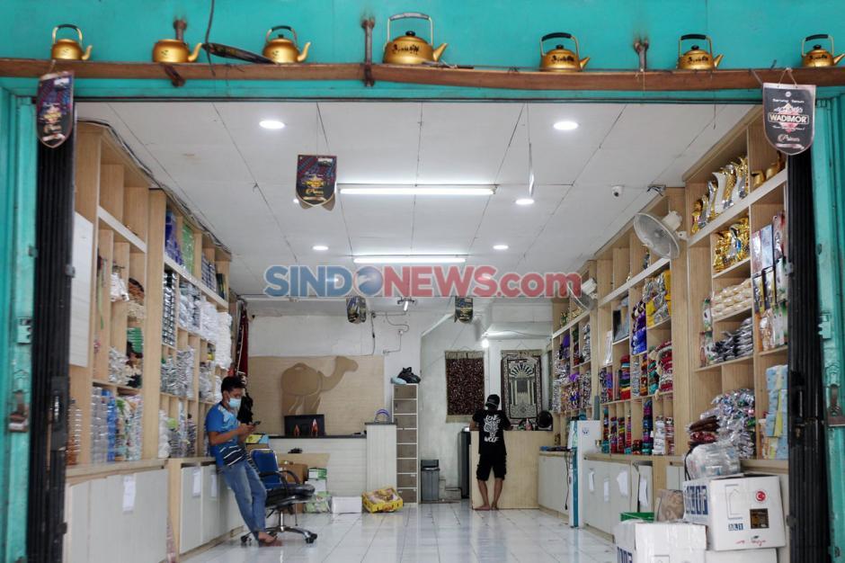 Penjualan Oleh-Oleh Haji di Tanah Abang Turun Drastis-2