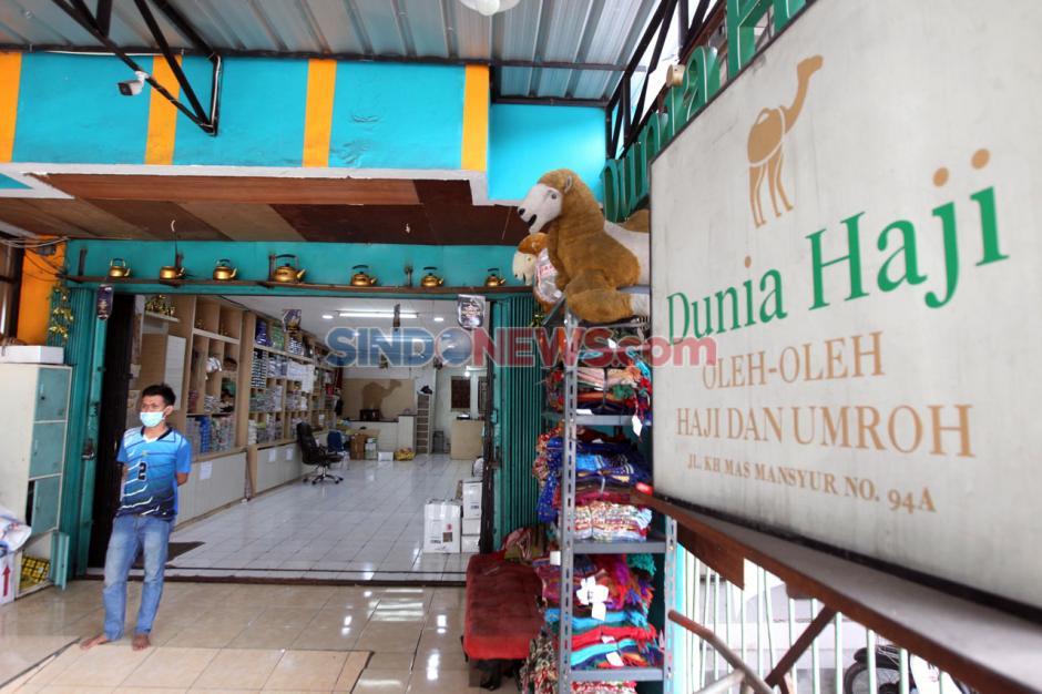 Penjualan Oleh-Oleh Haji di Tanah Abang Turun Drastis-3