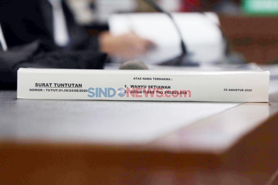 Eks Komisioner KPU Wahyu Setiawan Dituntut 8 Tahun Penjara-3