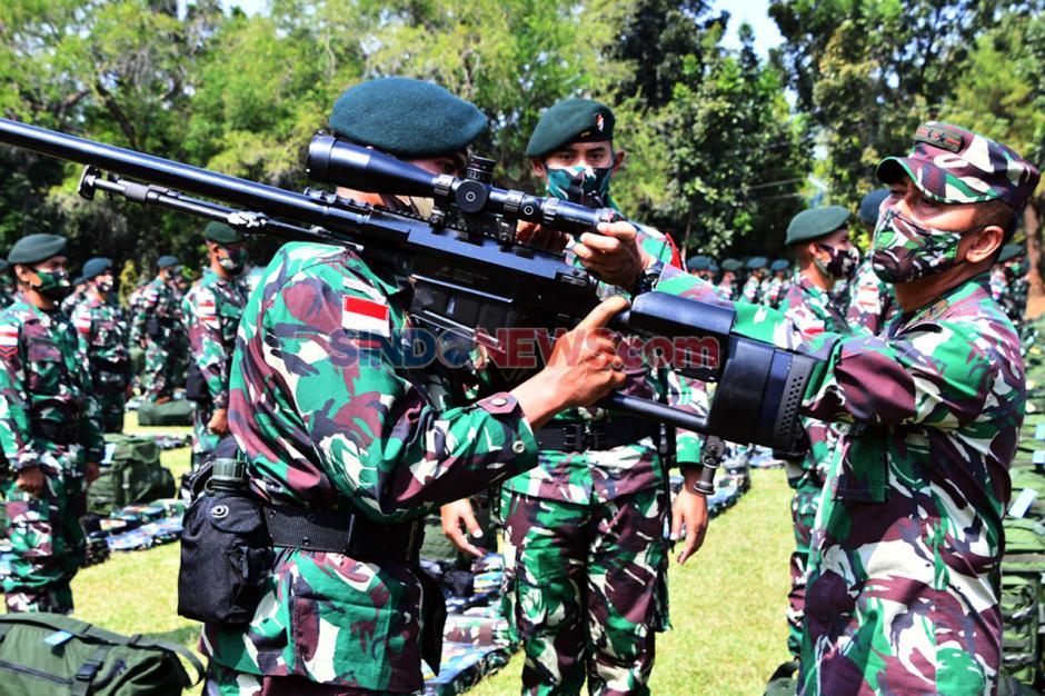 Pangdam IV/Diponegoro Cek Kesiapan Prajurit Yonif Raider 400/BR Jelang Tugas ke Perbatasan RI-PNG-3