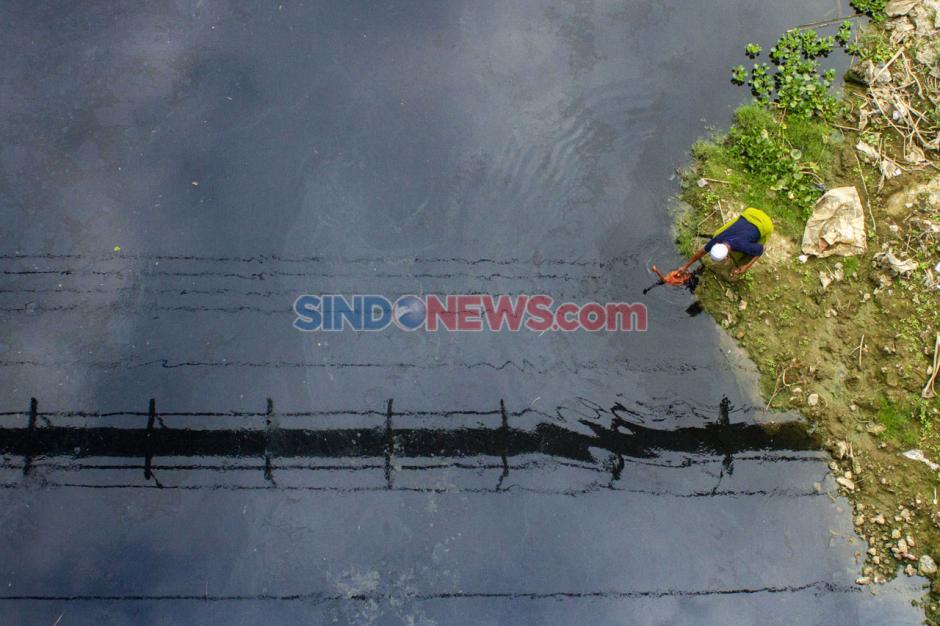 Sungai Citarum Kembali Tercemar Limbah-0