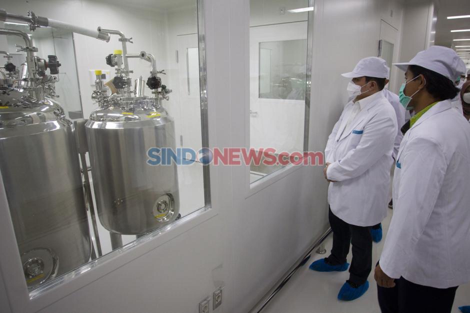 Melihat Fasilitas Produksi Vaksin Covid-19 Milik Bio Farma di Bandung-4