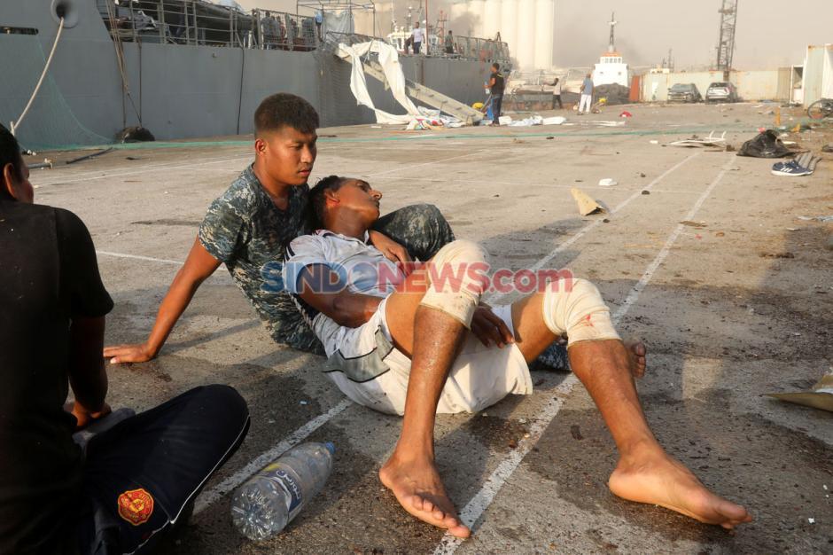 Inilah Kerusakan yang Disebabkan Ledakan Dahsyat di Beirut-3