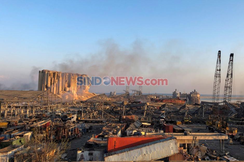 Kota Beirut Luluh Lantah Akibat Ledakan Dahsyat-2