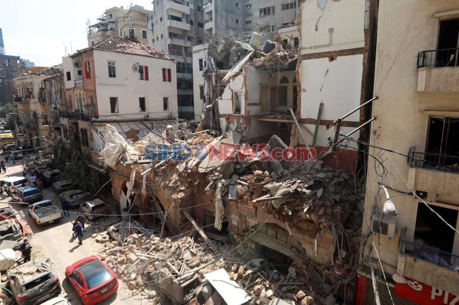 Ledakan Beirut, Jumlah Korban Tewas Terus Bertambah-2