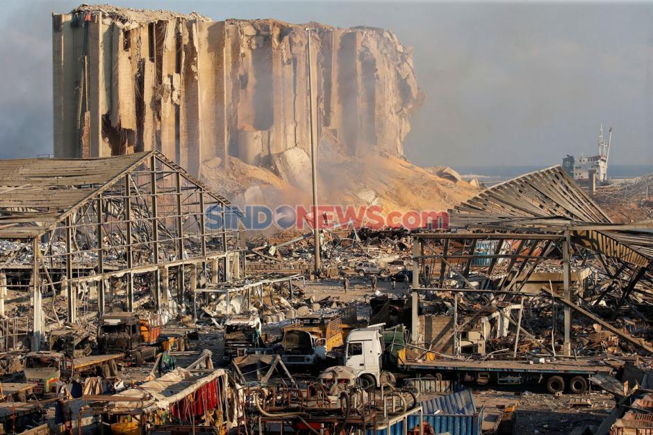 Ledakan Beirut, Jumlah Korban Tewas Terus Bertambah-1