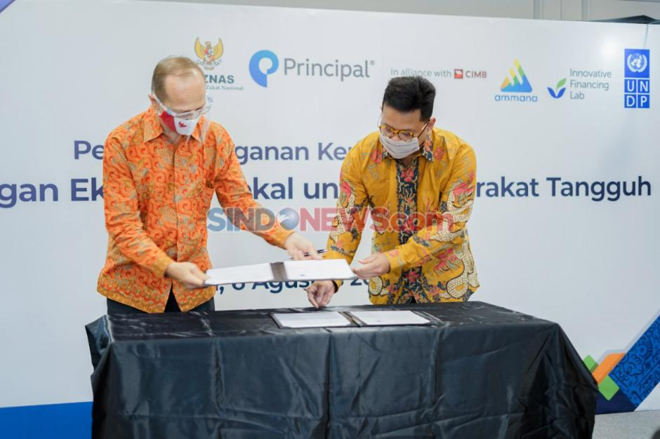 Kerja Sama Pemanfaatan Keuangan Sosial Syariah dan Filantropi-1