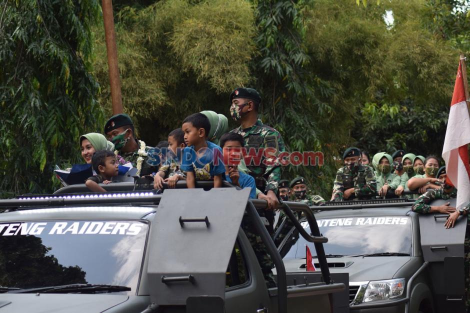 Tradisi Lepas Sambut Komandan Yonif Raider 400/BR-3