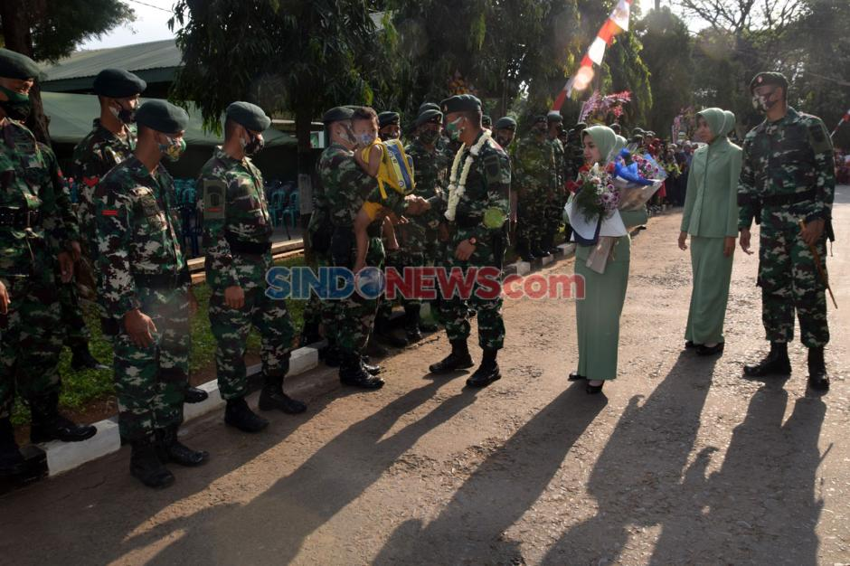 Tradisi Lepas Sambut Komandan Yonif Raider 400/BR-2