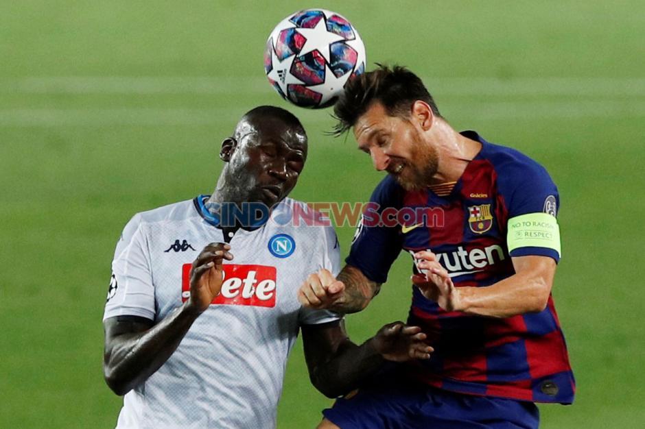 Taklukkan Napoli 3-1 di Camp Nou, Barcelona Lolos ke Perempat Final Liga Champions-2