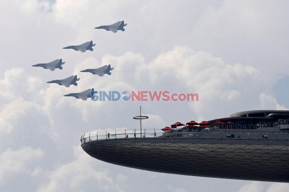 Peringatan Hari Kemerdekaan Singapura di Tengah Pandemi Covid-19-0