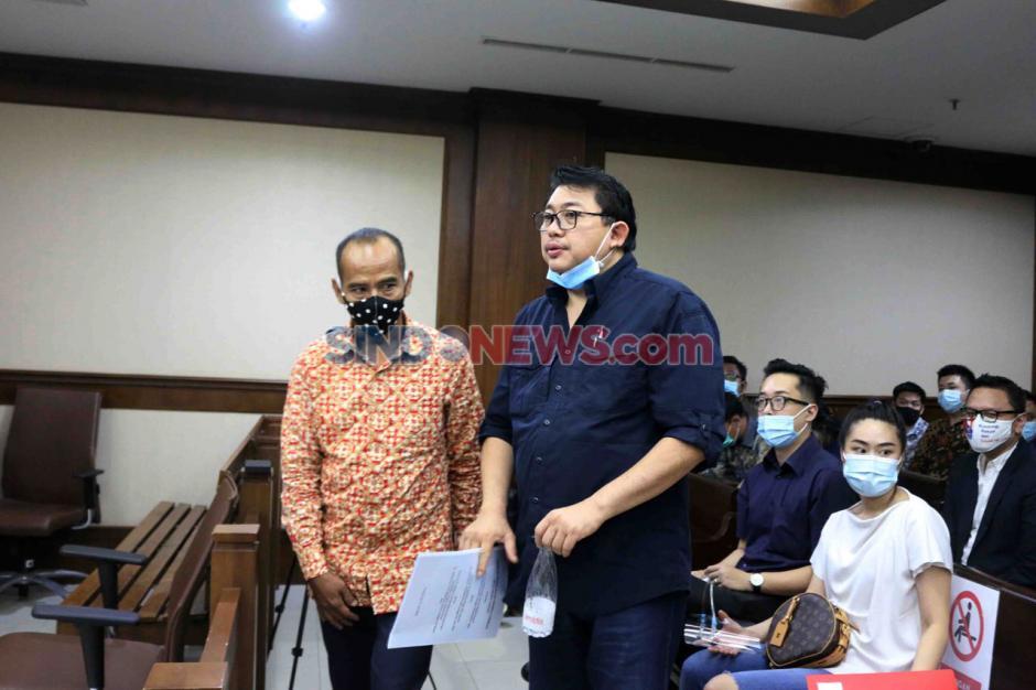 Terpidana Lucas Jalani Sidang PK Kasus Perintangan Penyidikan Perkara Eddy Sindoro-2