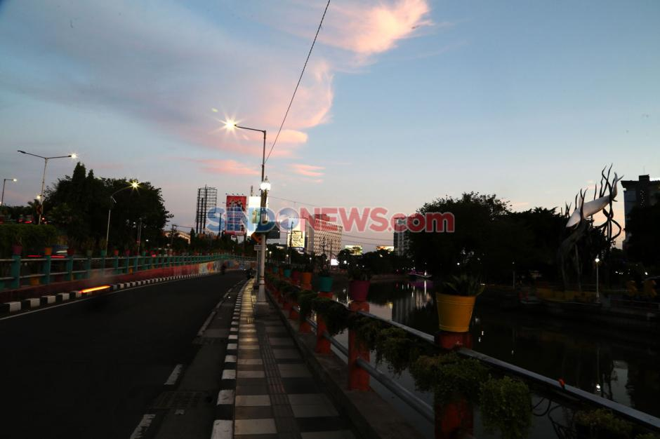 Kabar Baik, Status Penyebaran COVID-19 di Surabaya Menjadi Zona Orange-4