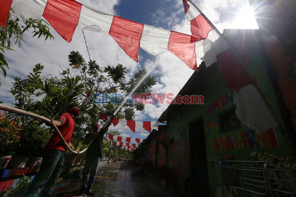 Untag Surabaya Inisiasi Kampung Tanggap Kebakaran-6
