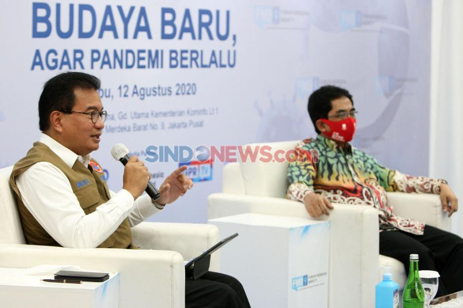 Forum Merdeka Barat 9: Budaya Baru Agar Pandemi Berlalu-1