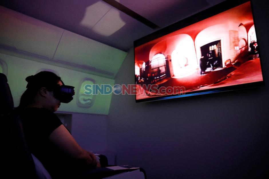 Liburan Virtual Bersama Pesawat Kelas Bisnis di Jepang-2