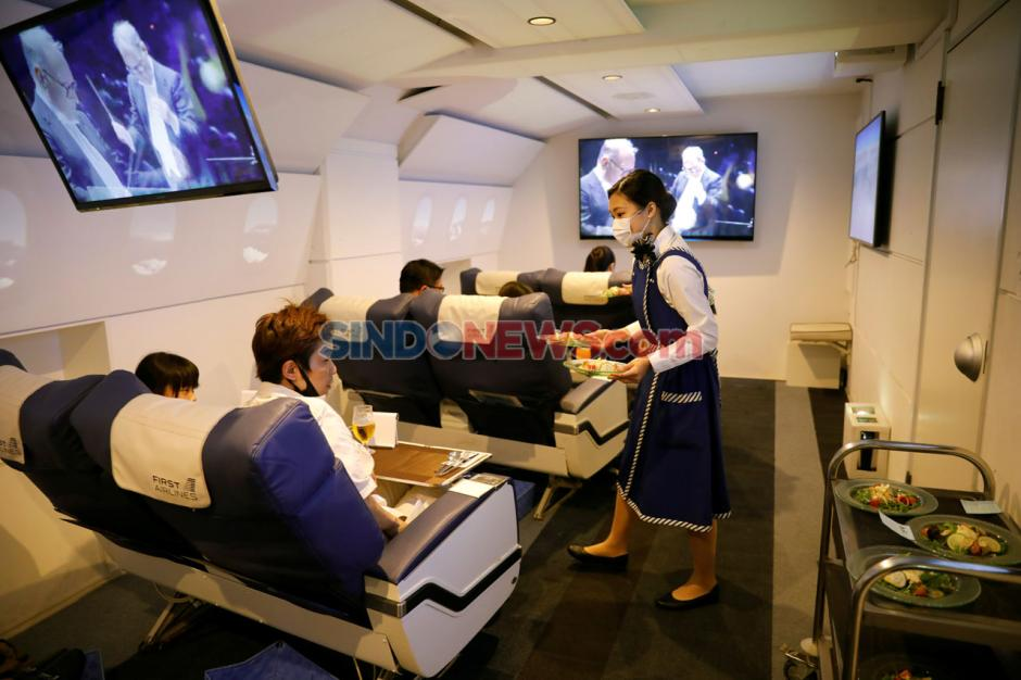 Liburan Virtual Bersama Pesawat Kelas Bisnis di Jepang-0
